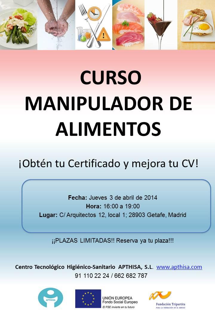 Certificado de Manipulador de Alimentos: dudas frecuentes