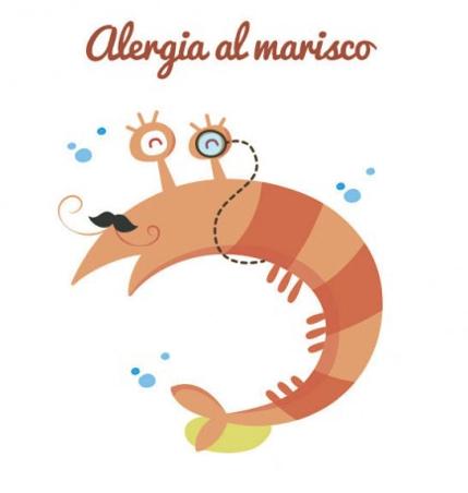 Alergia a mariscos