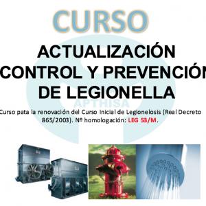 Curso Actualización Legionella